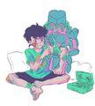 Josuke and Crazy Diamond JoJo