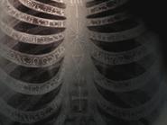 Enochian on ribs Supernatural
