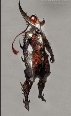 Cursed warrior 343/Eldritch knights