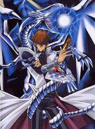 Seto and Blue-Eyes White Dragon