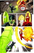 Construct Creation by Green Lantern and Effigy