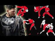 How many fighting styles does The Punisher know in Marvel's The Punisher Netflix Series?-2