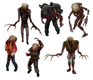 Headcrab Zombies Half-Life