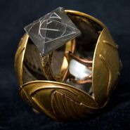 Deathly Hallow Resurrection Stone In Open Snitch Image