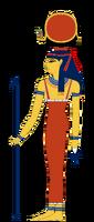 Hathor-Egyptian-Goddess
