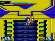 Sonic vs Emerl