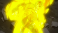 Natsu's Dragon Force against Mard Geer