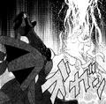 N's Zekrom using Fusion Bolt