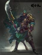 Guan-Yu Green Dragon Crescent Blade
