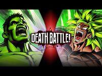 Hulk VS Broly (Marvel VS Dragon Ball) - DEATH BATTLE!