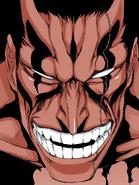 Kenpachi's Bankai face (Bleach)