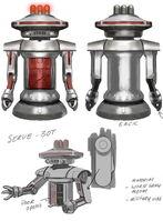 System Shock Serv-Bot