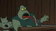 Buff Frog's lock-licking skills