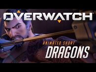 """Overwatch Animated Short - """"Dragons"""""""