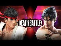 Ryu VS Jin (Street Fighter VS Tekken) - DEATH BATTLE!
