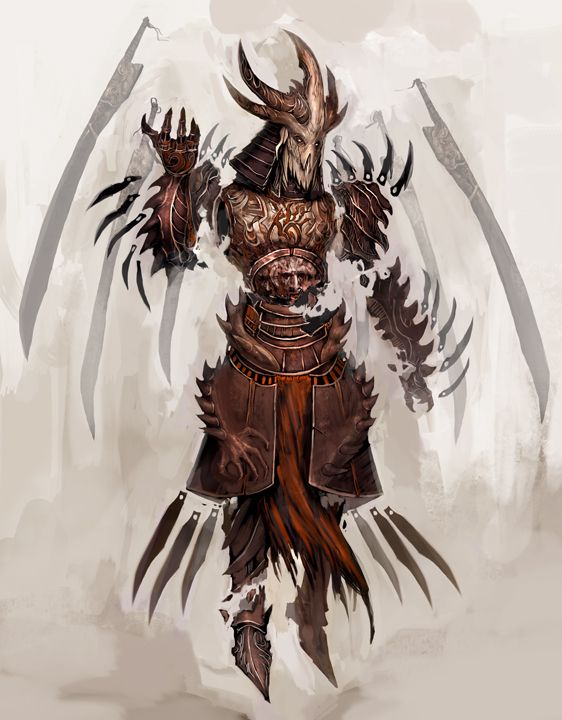 Cursed warrior 343/The shattered