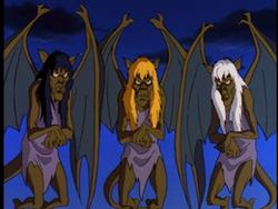 Weird Sisters Gargoyles 01.png