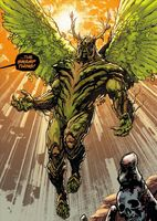 Swamp Thing Wings