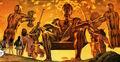 Apollo Princes Tarot Sixes Promethea