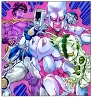 Stands of Jojo Bizarre Adventure Part 4 Diamonds are Unbreakable
