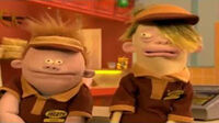 Josh Redgrove and Parker Dinkleman (Mr. Meaty)