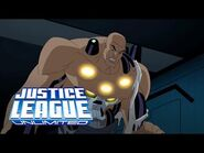 The Justice League and Amanda Waller against Lex Luthor merged with Brainiac - Justice League Unlimi