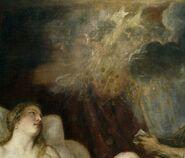 Zeus impregnating Danaë (Greek Mythology)