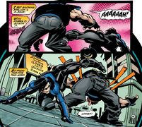 Power Kick By Nightwing