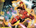Captain Comet (DC Comics) flight