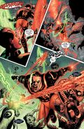 Guy Gardner's Green and Red Power Ring Combat!!