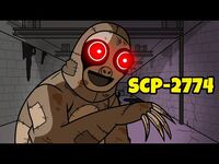 Slow Burn Sloth - SCP-2774 (SCP Animation)