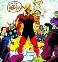 Adam Warlock Infinity Gauntlet