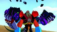 AntiVilgax's enhanced strength