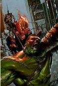 Ghost Rider Vs Hulk