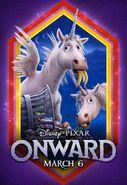 Onward Unicorns Poster