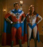 Duo of Superheroes
