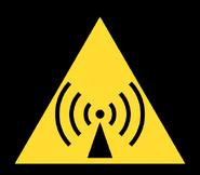 Non-Ionizing Radiation Symbol