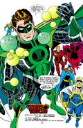 Creation by Hal Jordan, Parallax