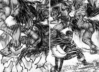 Dragon Slayer Leaves Em' in Pieces Berserk