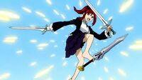 Erza multi sword