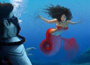 Me as mermaid 3 by soniamatas
