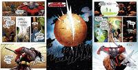 Terrax Destroys Planet