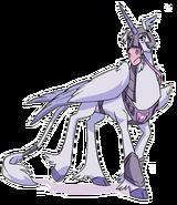 Amethyst, Princess of Gemworld Pegacorn pose