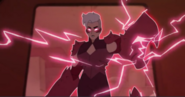 Scorpia empowerd by her Runestone