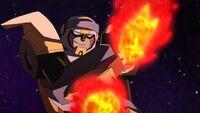 Hot shot animated fire
