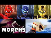 Jungle Fury - All Ranger Morphs - Power Rangers Official-2