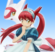 Pokemon special latias maid