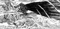 Berserker Guts knocks Grunbled