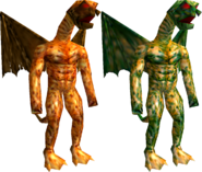 Serious Sam Dragonman Sergeant and Giant