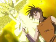 Yanagi Sakoshita (Flame of Recca) healing